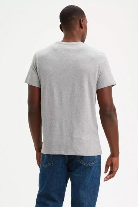 Levi's® T-shirts (korte mouwen) grijs 39636 SPORTSWEARLOGO_0002MIDTONEGRE img2
