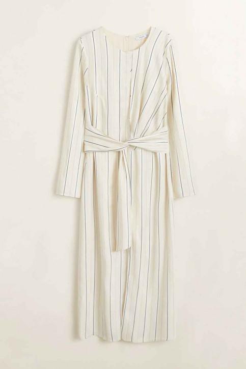 MANGO Robes 3/4 blanc 41040739_MNG_19_NATURAL WHITE img5