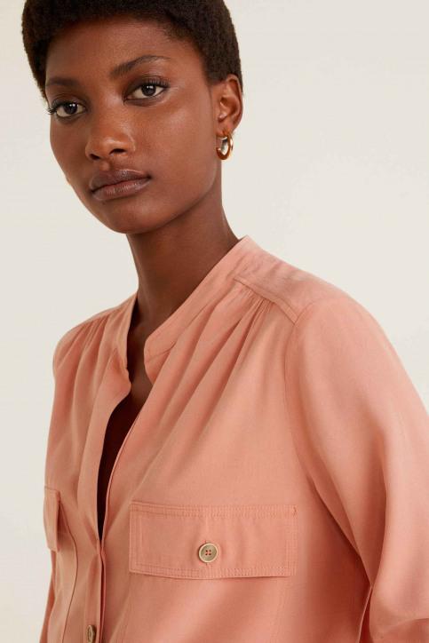 MANGO Hemden (lange mouwen) oranje 41055764_MNG_19_IT-PASTEL ORAN img4