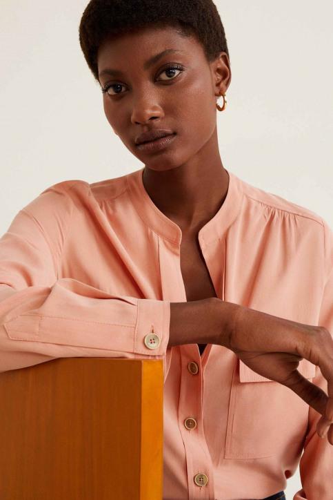 MANGO Hemden (lange mouwen) oranje 41055764_MNG_19_IT-PASTEL ORAN img5