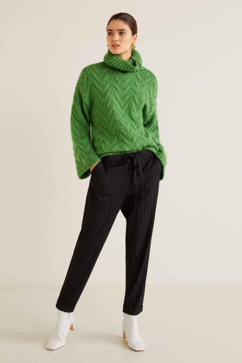 MANGO Pantalons noir 43023005_MNG_19_BLACK img2
