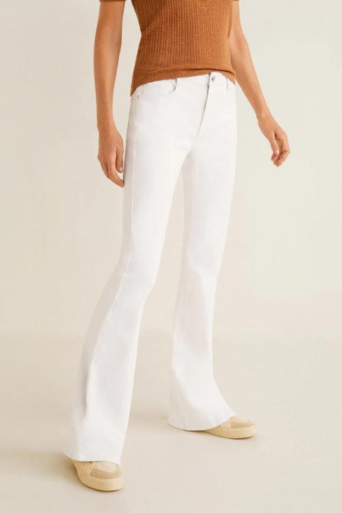 MANGO Jeans fared blanc 43035720_MNG_19_WHITE img1