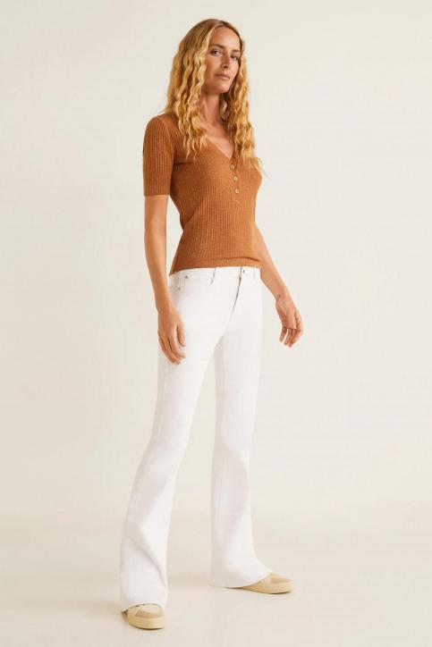 MANGO Jeans fared blanc 43035720_MNG_19_WHITE img2