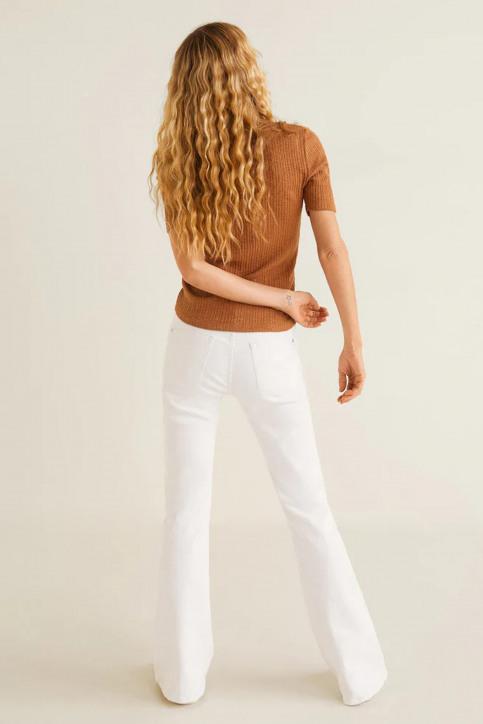 MANGO Jeans fared blanc 43035720_MNG_19_WHITE img3