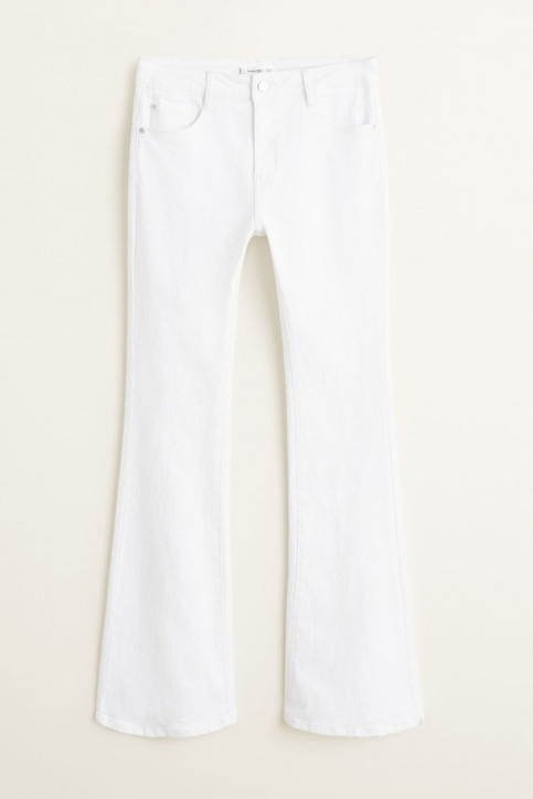 MANGO Jeans fared blanc 43035720_MNG_19_WHITE img4