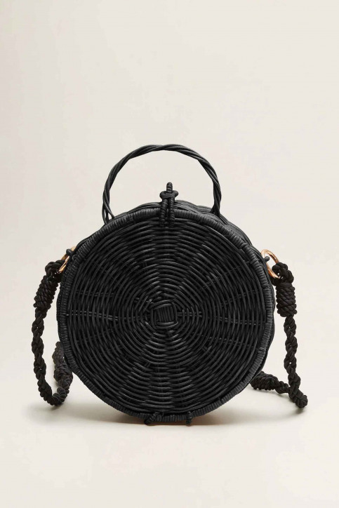 Mango Handtassen zwart 43065789_MNG_19_BLACK img3