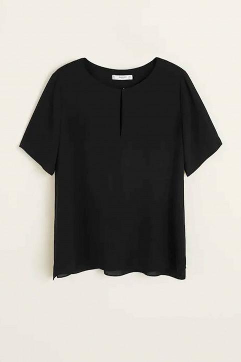 Mango Blouses (lange mouwen) zwart 43073700_MNG_19_BLACK img5
