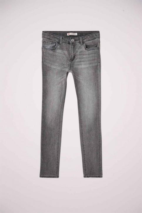 Levi's® Girls jeans jeans skinny grijs 4E2702_D8A FLUME img1