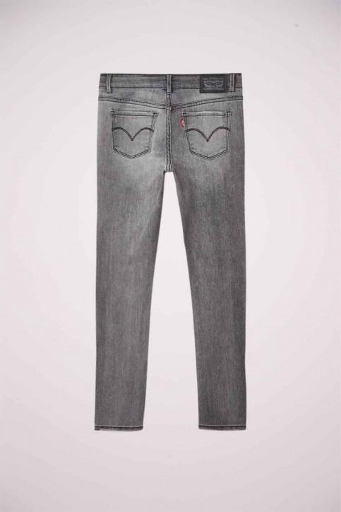 Levi's® Girls jeans jeans skinny grijs 4E2702_D8A FLUME img2