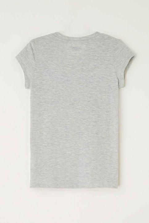 Levi's® T-shirts met korte mouwen grijs 4E4900_G2H GREY HEATHE img2