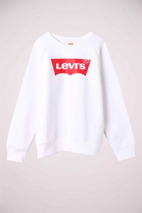 Levi's® Sweaters met O-hals wit 4E6660_W5J RED WHITE img1