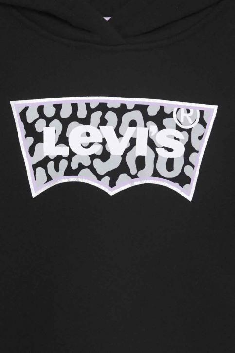 Levi's® Sweaters met kap zwart 4EB940_023 BLACK img3