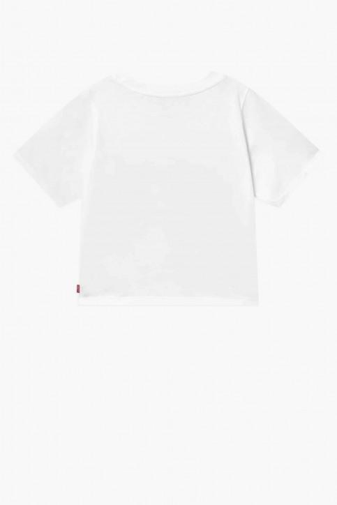 Levi's® T-shirts met korte mouwen wit 4EC076_W61 WHITREDFOIL img2