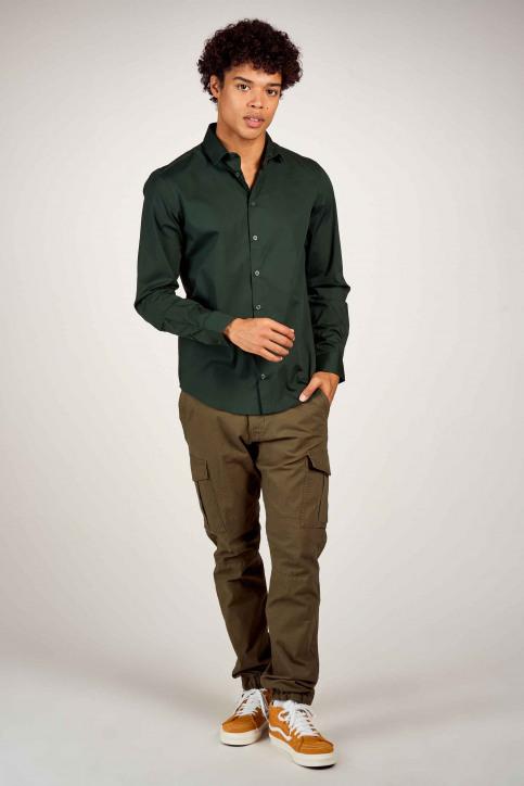 Casual Friday Hemden (lange mouwen) groen 500924_195350 SCARAB img1