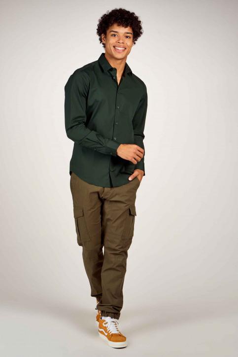 Casual Friday Hemden (lange mouwen) groen 500924_195350 SCARAB img2
