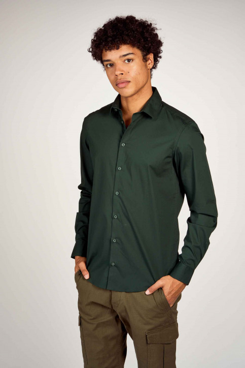 Casual Friday Hemden (lange mouwen) groen 500924_195350 SCARAB img3