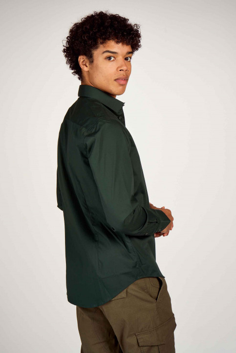Casual Friday Hemden (lange mouwen) groen 500924_195350 SCARAB img4