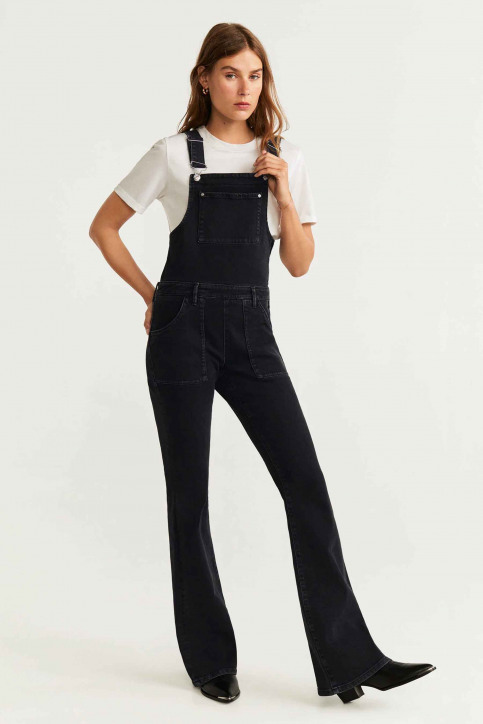 MANGO Jumpsuits gris 53080749_MNG_19_OPEN GREY img2