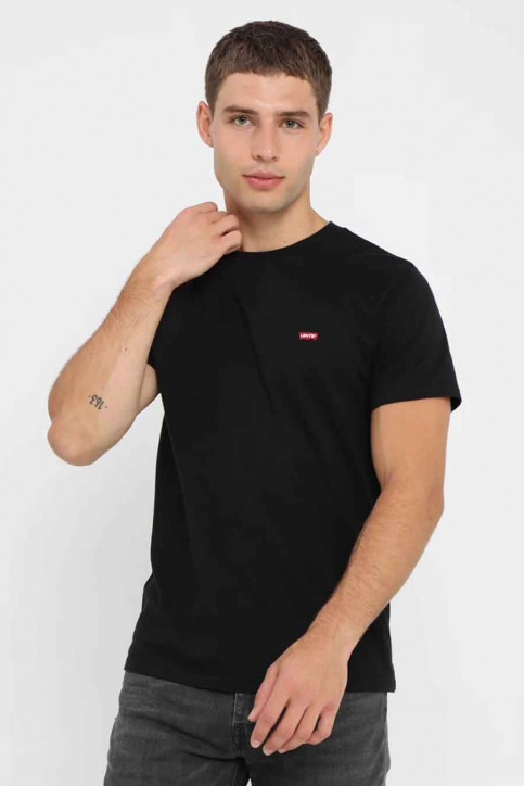Levi's® T-shirts (korte mouwen) zwart 566050009_0009 PATCH BLAC img1