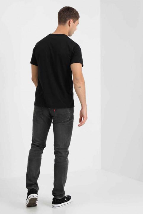 Levi's® T-shirts (korte mouwen) zwart 566050009_0009 PATCH BLAC img2