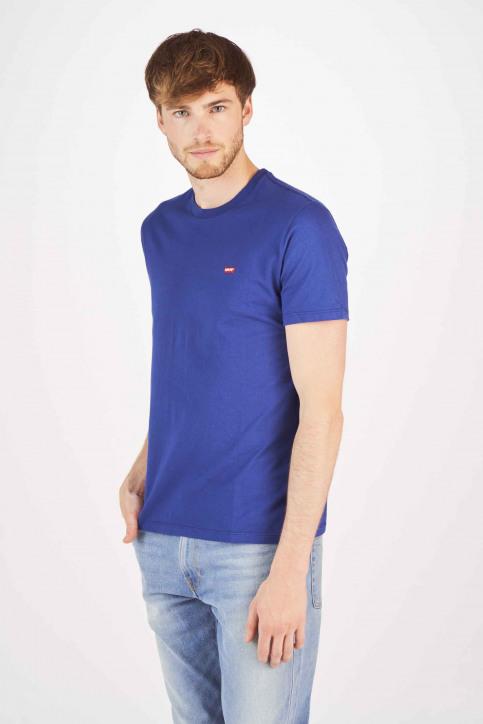 Levi's® T-shirts (korte mouwen) blauw 566050024_0024 SOLIDATE img1