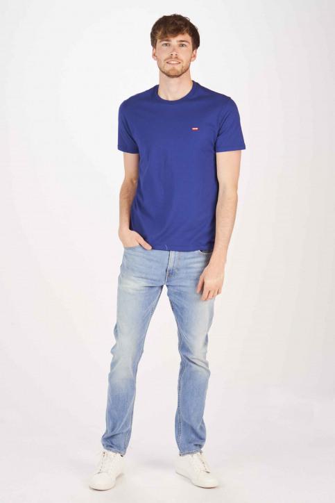 Levi's® T-shirts (korte mouwen) blauw 566050024_0024 SOLIDATE img2