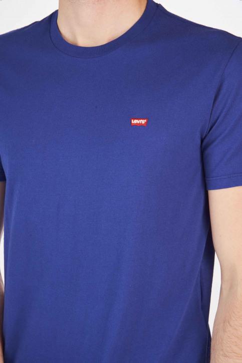 Levi's® T-shirts (korte mouwen) blauw 566050024_0024 SOLIDATE img4