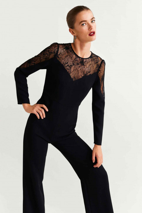 MANGO Jumpsuits noir 57049205_MNG_19_BLACK img1