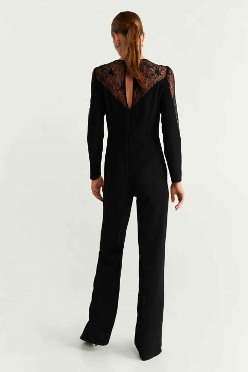 MANGO Jumpsuits noir 57049205_MNG_19_BLACK img3