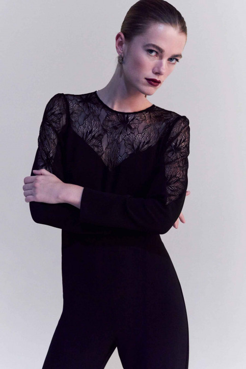 MANGO Jumpsuits noir 57049205_MNG_19_BLACK img4
