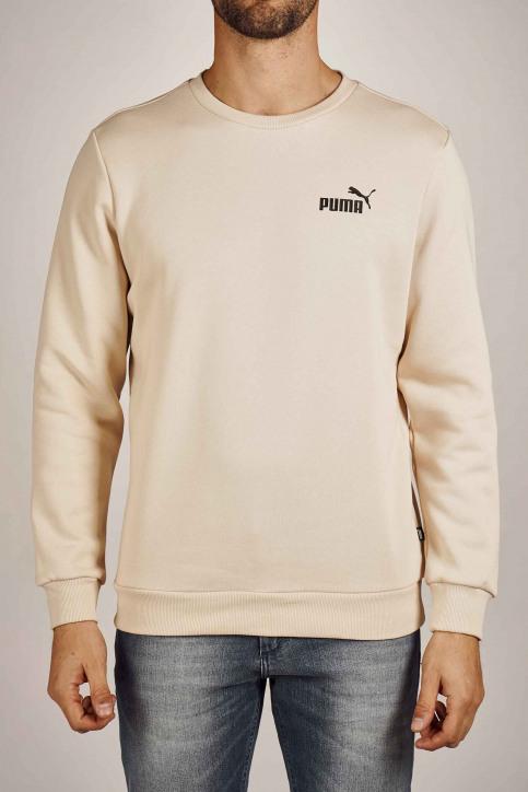 Puma Sweaters met ronde hals beige 579864_0065 TAPIOCA img1