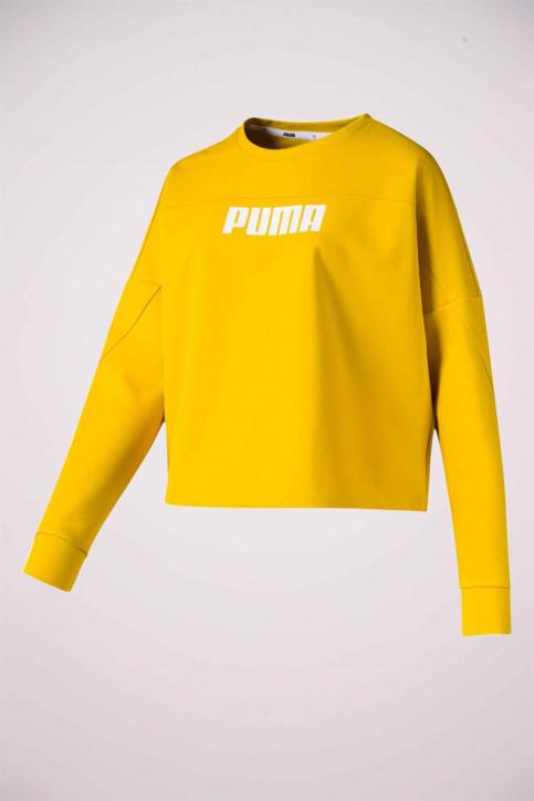 Puma Sweaters met ronde hals geel 5800860020_0020 SULPHUR img1