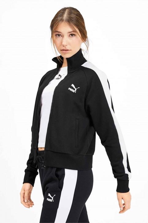Puma Sweaters met kap zwart 5952040001_0001 BLACK img1