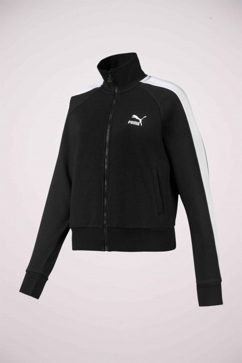 Puma Sweaters met kap zwart 5952040001_0001 BLACK img4