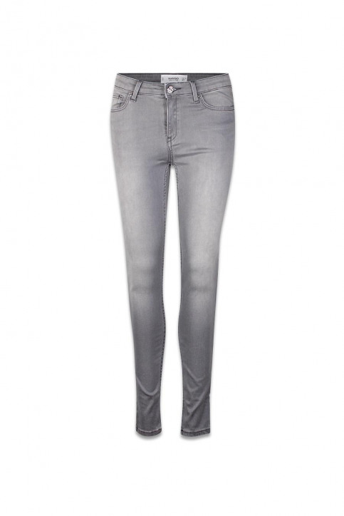 MANGO Jeans skinny gris 61083002_MNG_16_OPEN GREY img1