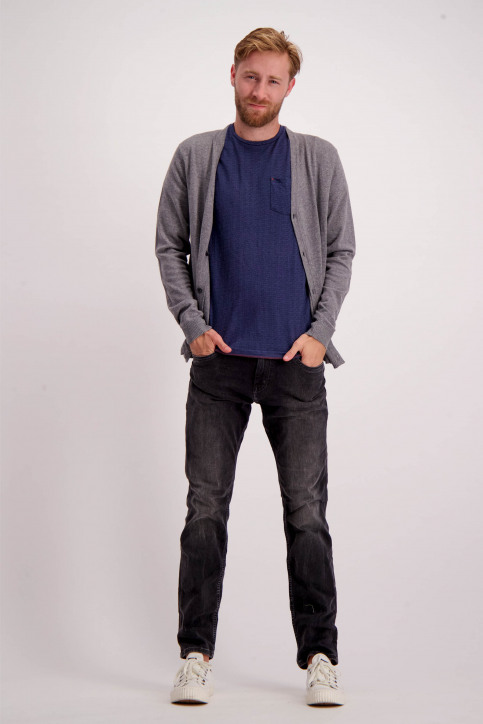 Tom Tailor Jeans slim gris 62554400910_1056DARK GREY img2
