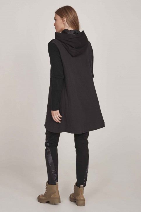 NU Vestes longues noir 658535_000 BLACK img4