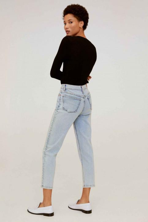 Mango Mom Jeans bleu 67000536_MNG_20_OPEN BLUE img2