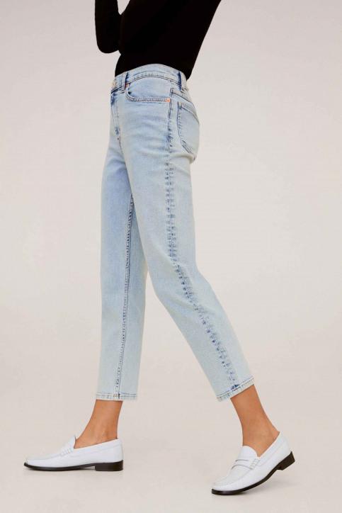Mango Mom Jeans bleu 67000536_MNG_20_OPEN BLUE img3