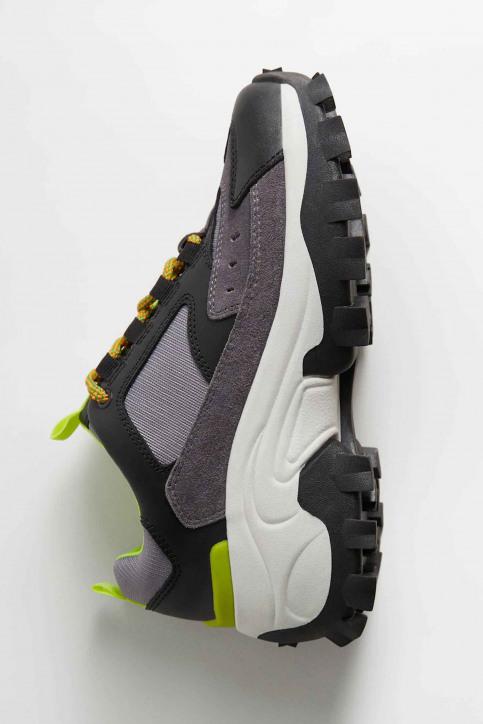 MANGO Sneakers zwart 67050551_MNG_20_BLACK img1