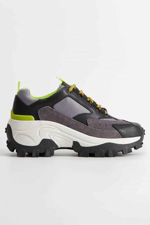 MANGO Sneakers zwart 67050551_MNG_20_BLACK img2