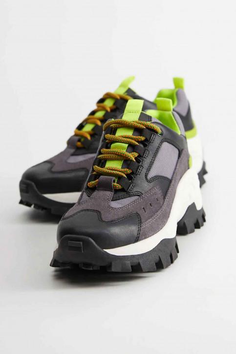 MANGO Sneakers zwart 67050551_MNG_20_BLACK img4