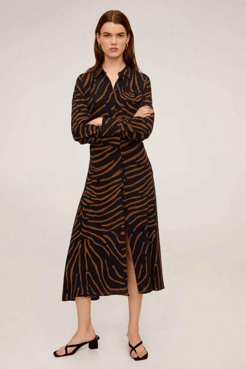 MANGO Hemden (lange mouwen) zwart 67064765_MNG_20_BLACK img1