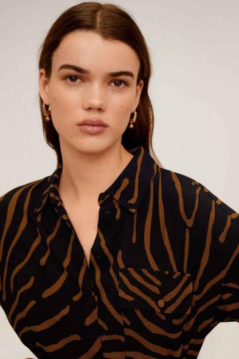 MANGO Hemden (lange mouwen) zwart 67064765_MNG_20_BLACK img3