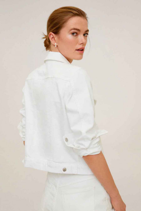 MANGO Vestes denim blanc 67076704_MNG_20_01 WHITE img3