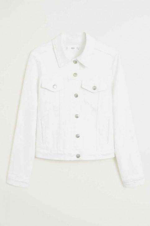 MANGO Vestes denim blanc 67076704_MNG_20_01 WHITE img5