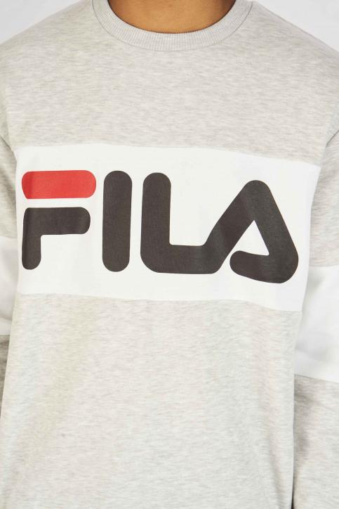 FILA Sweats col O gris 681255_LIGHT GREY MELA img4