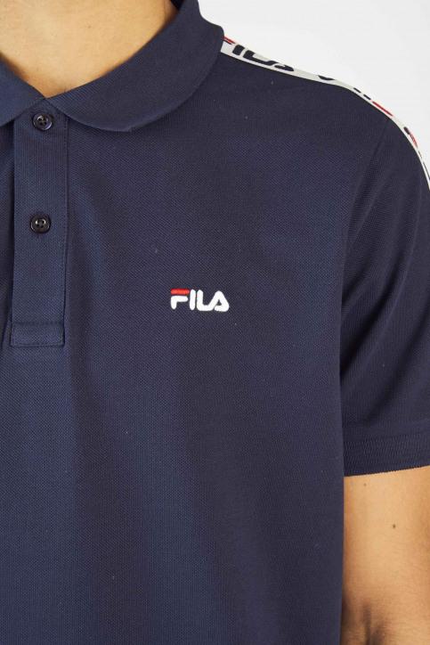 FILA Polo's blauw 687022_BLACK IRIS img4