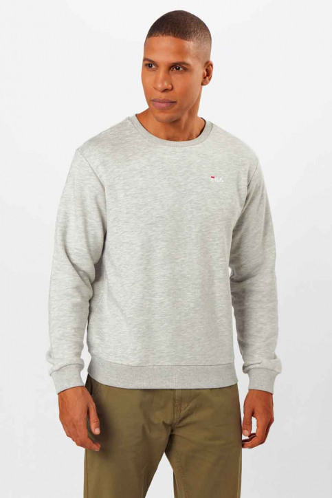 FILA Sweaters met kap grijs 687468_B13 LIGHT GREY img1