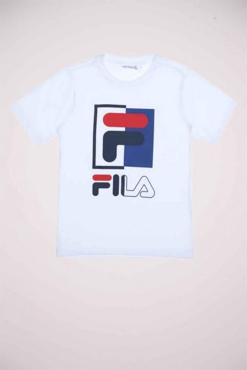 FILA T-shirts met korte mouwen wit 688049_M67 BRIGHT WHIT img1